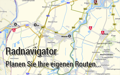 Fahrradwege Ostfriesland Karte.Radwandern Stadt Weener